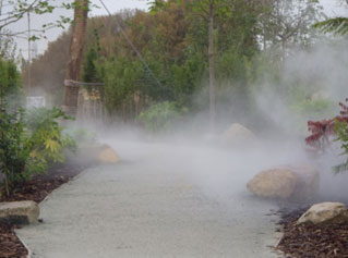 Fogging for landscaping effects