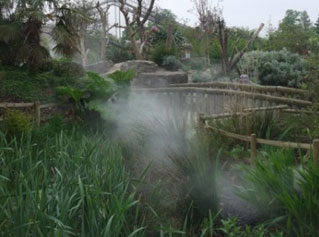 MicronFog in Chester Zoo Gardens